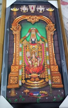Sri Venkateswara Swamy With Lakshmi Devi