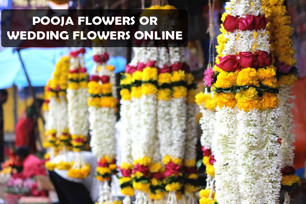 Buy Pooja Flowers or Wedding Flowers Online With Ease