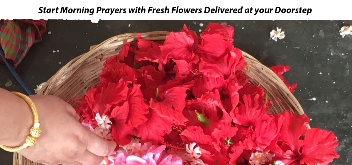 Start Morning Prayers with Fresh Flowers Delivered at your Doorstep