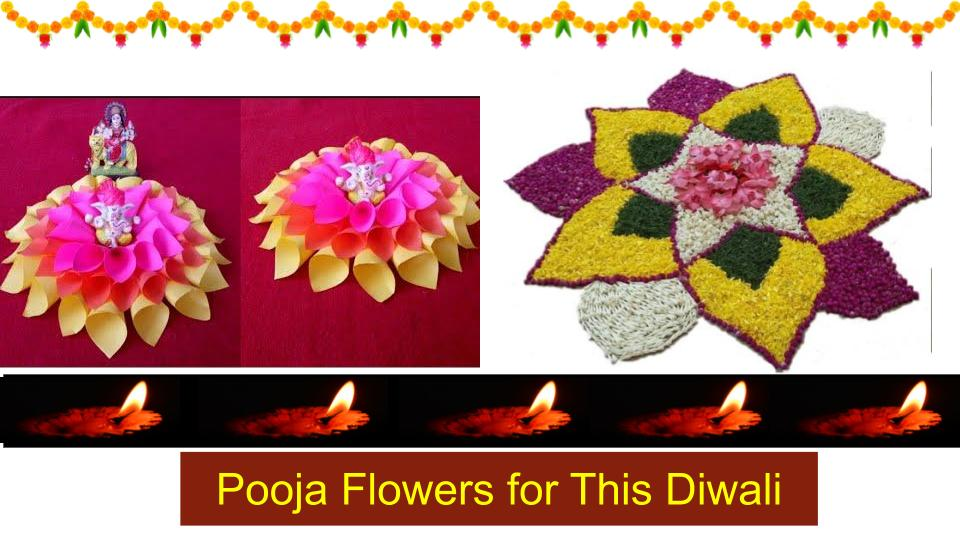 Why Indians Use Flowers in Pooja?