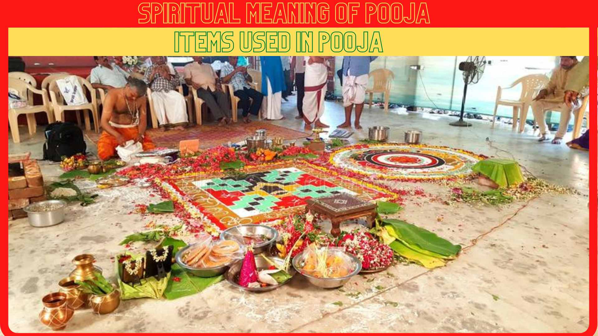 Spiritual Meaning of Pooja items used in Pooja